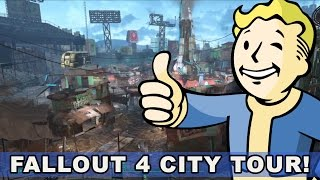 Download Take a Tour of Some Fallout 4 Cities (Sanctuary, Boston Commons, Diamond City) Video