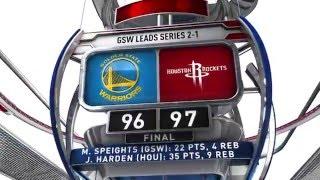 Download Golden State Warriors vs Houston Rockets - April 21, 2016 Video
