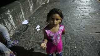 Download Poverty in India, sleeping out in the streets Video