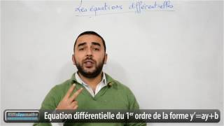 Download Equations différentielles du premier ordre à coefficients constants. Video