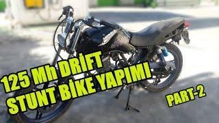 Download 125 MH DRİFT STUNT BİKE YAPIMI STUNT DİŞLİSİ YAPTIK!! PART-2 Video