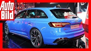 Download Audi RS 4 Avant (IAA 2017) Review/Details/Erklärung Video