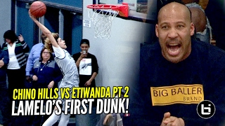 Download Chino Hills vs Etiwanda Got INTENSE! LaMelo Gets a Clean Dunk & Dad Almost Gets Kicked Out? Video