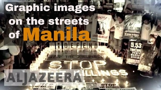 Download Graphic images on the streets of Manila - The Listening Post (Lead) Video