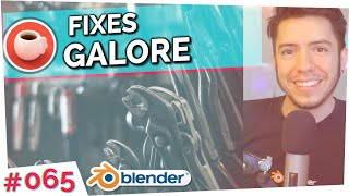 Download FIXES GALORE - Blender Today Live #65 Video