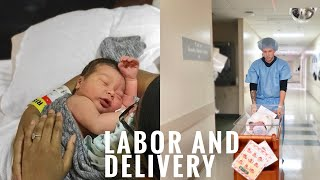 Download LABOR AND DELIVERY VLOG   BABY BROOKS IS HERE   HURRICANE BABY Video