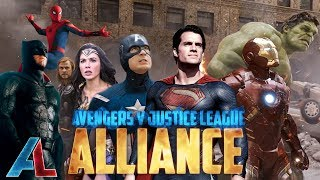 Download Avengers v Justice League: ALLIANCE - Epic Fan Film Supercut Video