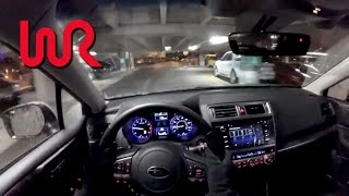 Download 2017 Subaru Outback 2.5i Limited - WR TV POV Night Drive Video