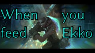 Download When you feed Ekko Video