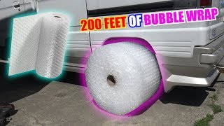 Download We Tried BUBBLE WRAP Tires Video
