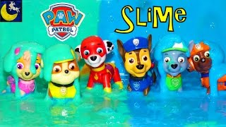 Download Paw Patrol Super Heroes Pup Toys Make SLIME Putty Surprise Chase Marshall Rocky Rubble Skye Toys! Video