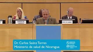 Download Dr. Carlos Saénz Torres, Ministerio de salud de Nicaragua Video