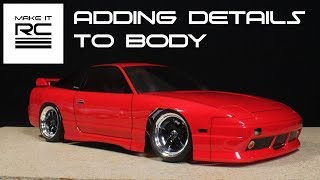 Download Budget RC Drift Build: Part 4 Adding Decals, Spoiler, Tint, and Body Lines Video
