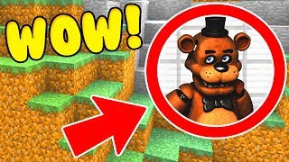 Download WE FOUND FNAF FREDDY FAZBEAR'S SECRET BASE IN MINECRAFT PE! Video