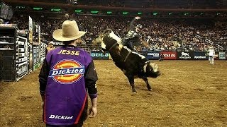 Download Rodeo Bullfighters Distract Angry, One-Ton Animals Video