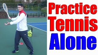 Download How To Practice Tennis By Yourself - 5 Different Ways - Tennis Lesson Video