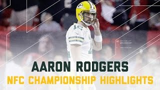 Download Aaron Rodgers Struggles!   Packers vs. Falcons   NFC Championship Player Highlights Video