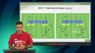 Download Creating and exploiting space with the 3-5-2 formation (Antonio Conte study) Video