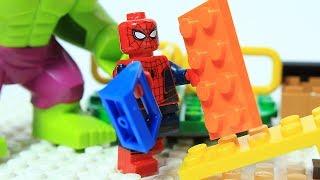 Download Lego Spiderman Brick Building Playground Animation Video