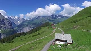 Download Jungfrau Region - Swiss Alps - Drone footage in 4K or HD Video