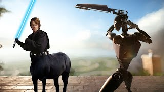 Download Star Wars Battlefront 2 being ridiculous Video