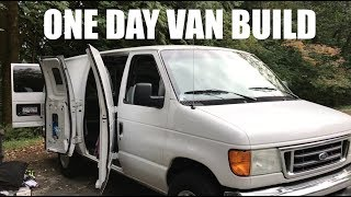 Download HOW TO BUILD A STEALTH VAN IN ONE DAY | Van Life Canada Video