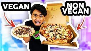 Download VEGAN FOOD VS NON VEGAN FOOD! Video