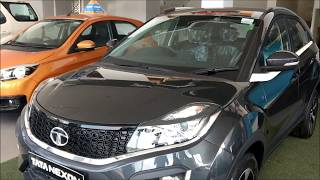 Download Tata Nexon Glasgow Grey Color Interior and Exterior Walkaround !! Video