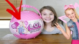 Download LOL JoJo Siwa Big Surprise! Custom LOL Big Surprise DIY Video