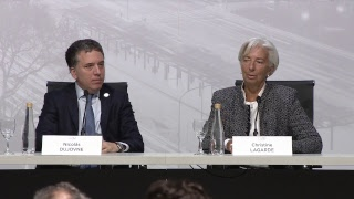 Download Press conference by Argentine Treasury Minister and International Monetary Fund Managing Director Video