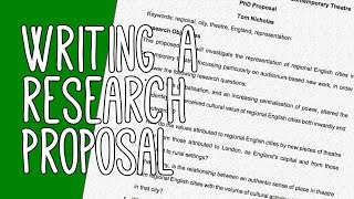 Download Successful Research Proposal Writing Tips for PhD Application | Essay Tips Video