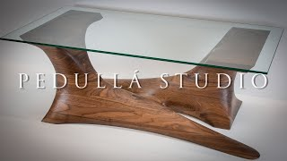 Download Walnut Sculpted Coffee Table - Build Video Video