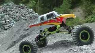 Download RC-Buggy gegen Crawler, das Show- Rennen, mit Humor Video