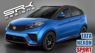 Download Tata Nexon Sport - Compact SUV | Rendering | Virtual Tuning | SRK Designs Video
