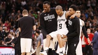 Download Tony Parker Gets CARRIED Off the Court After Quad Injury, Are the Spurs DONE? Video