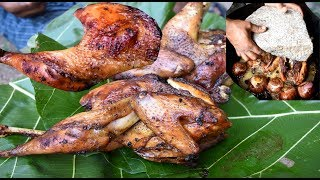 Download Nattu kozhi chicken oil fry new village food recipe//handicapped cooking my brother-i v food Video