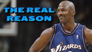 Download The REAL REASON Why Michael Jordan Played for the Wizards Video