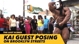 Download Kai Guest Posing on Brooklyn Streets | Generation Iron Video
