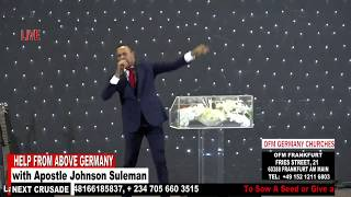 Download Help From Above Germany - Day 2 Evening Session (Apostle Johnson Suleman) Video