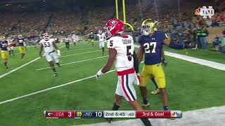 Download Notre Dame Football vs. UGA Highlights Video