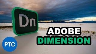 Download Adobe DIMENSION CC Tutorials - Learn How to Use Adobe Dimension CC - CRASH COURSE Video