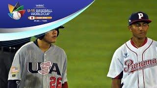Download Highlights: Panama v USA - U-15 Baseball World Cup 2016 Video