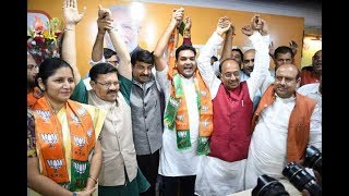 Download Delhi AAP leaders Kapil Mishra and Richa Pandey join BJP Video