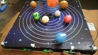 Download School Science Project - Solar System Working Model Video