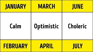 Download Scientists Prove: Your Birth Month Defines Your Health and Personality Video
