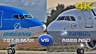 Download Airbus A320 Neo VS Boeing 737-8 MAX [4K] Video