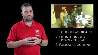 Download Oklahoma Bond Agent Uses Questionable Force | Active Self Protection Video