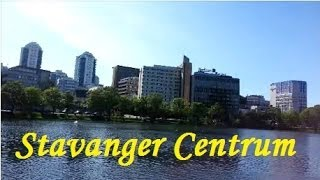 Download Stavanger Centrum (Downtown Stavanger), Norway Video