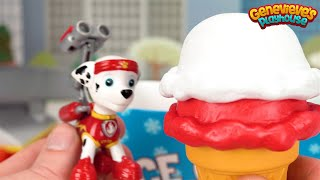 Download Learn Colors with Paw Patrol Ice Cream Scoops! Video