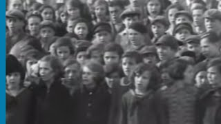 Download Children in the Hebrew Gymnasium Singing Hatikvah in Munkács Video